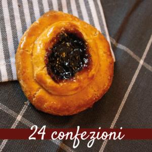 Crostatine ciociare alle visciole - 24 confezioni da 300 gr